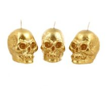 George Asda 3 Pack Gold Glitter Skull Candles - £3 https://groceries.asda.com/product/candles-lights/george-home-3-pack-gold-glitter-skull-candles/910002547048